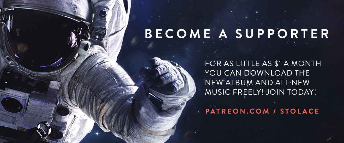 Become a supporter — For as little as $1/mo you can download the new album and all new music freely! join today! patreon.com / stolace